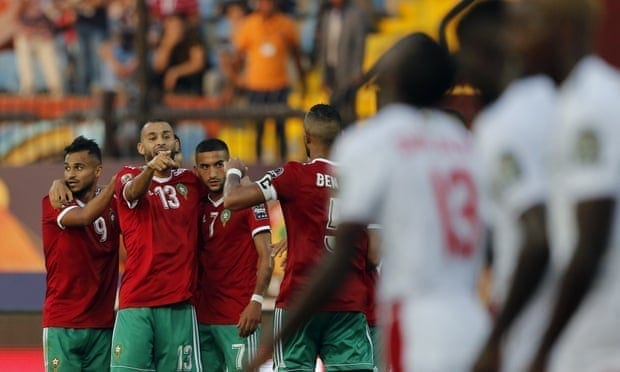 Namibia score late own goal to gift Morocco victory