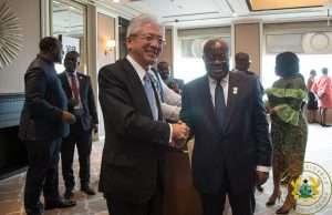 Akufo-Addo met the Toyota boss last year