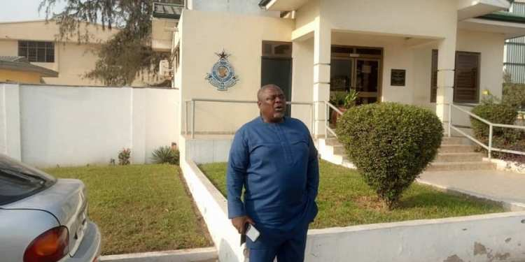Koku Anyidoho wants the police to fish out persons behind the fake account