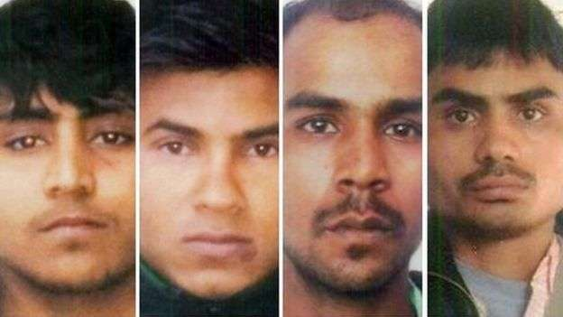 The four men had pleaded not guilty