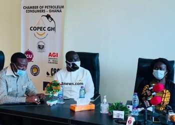 Prof Opoku-Agyemang (R) at COPEC