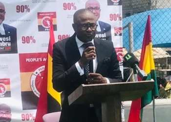 Kwesi Busumbru is one of the five presidential aspirants disqualified by the EC