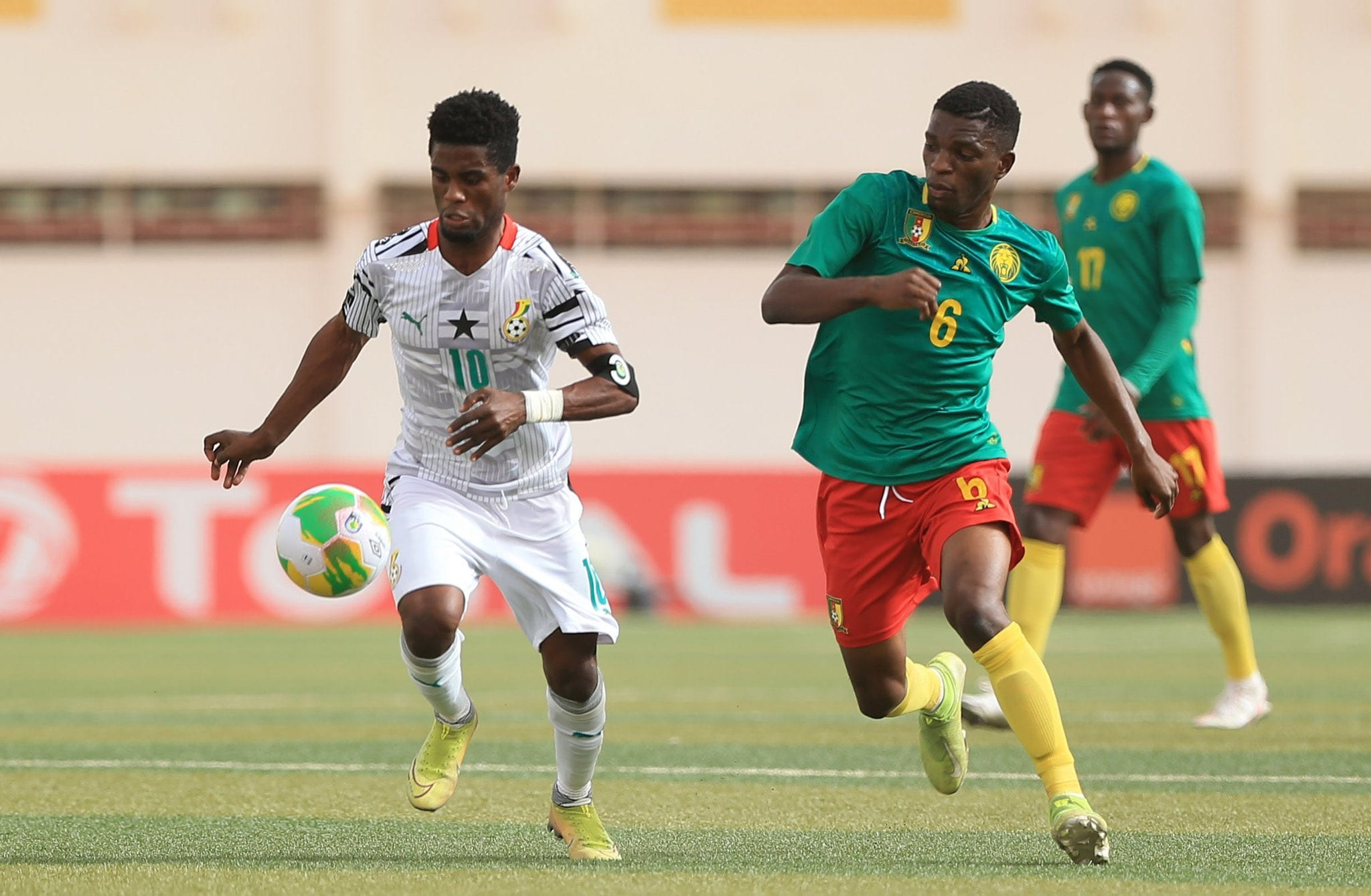 Penalties send Ghana to Total U-20 AFCON semis