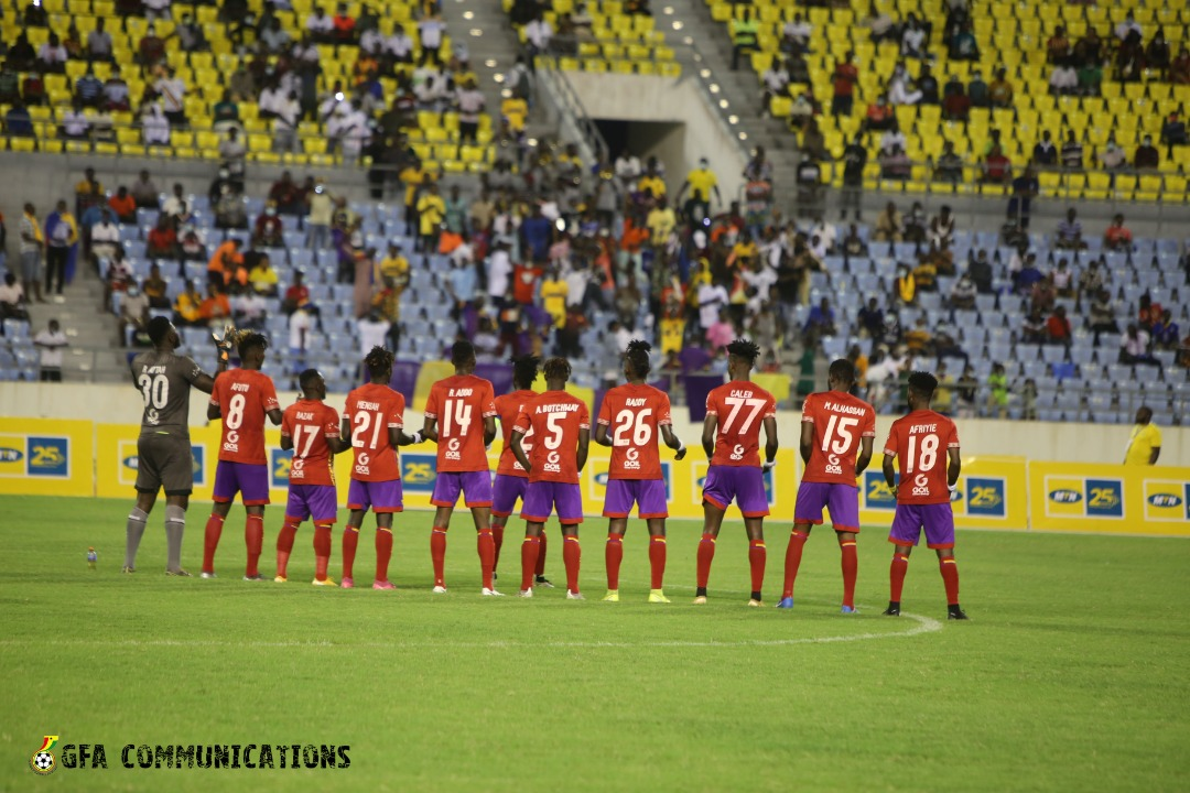 MTN FA Cup: Hearts of Oak on track for double after beating Medeama in semifinal