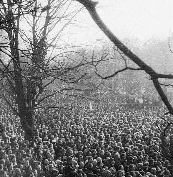 Pogrzeb Jerzyego Popieluszki 3 listopada 1984 rok