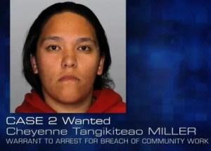 Cheyenne Tangikiteao MILLER