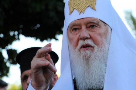 Філарет просить, щоб його згадували як «святішого патріарха»