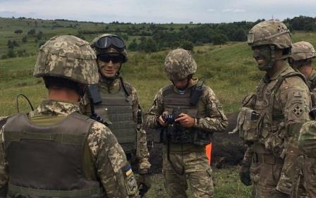 Українці на навчаннях Saber Guardian