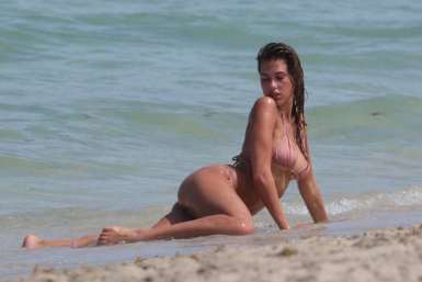 Kara Del Toro – Bikini photoshoot at Miami Beach