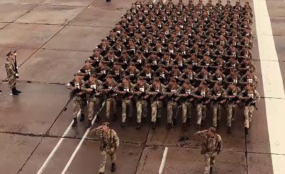 Репетиція параду до Дня Незалежності