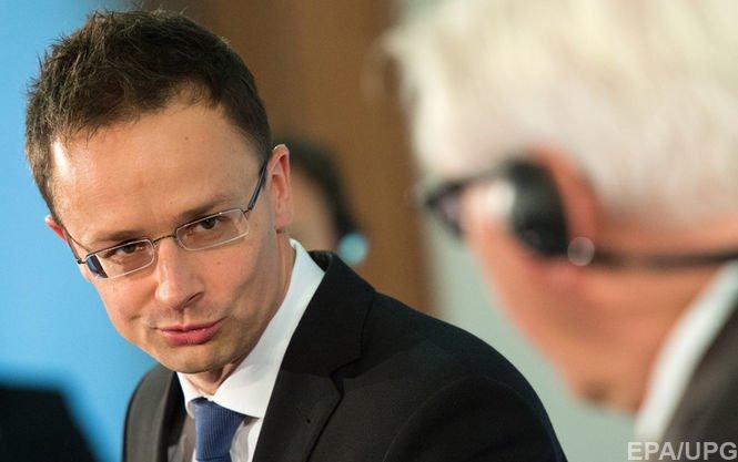 Глава МЗС Угорщини Петер Сіярто