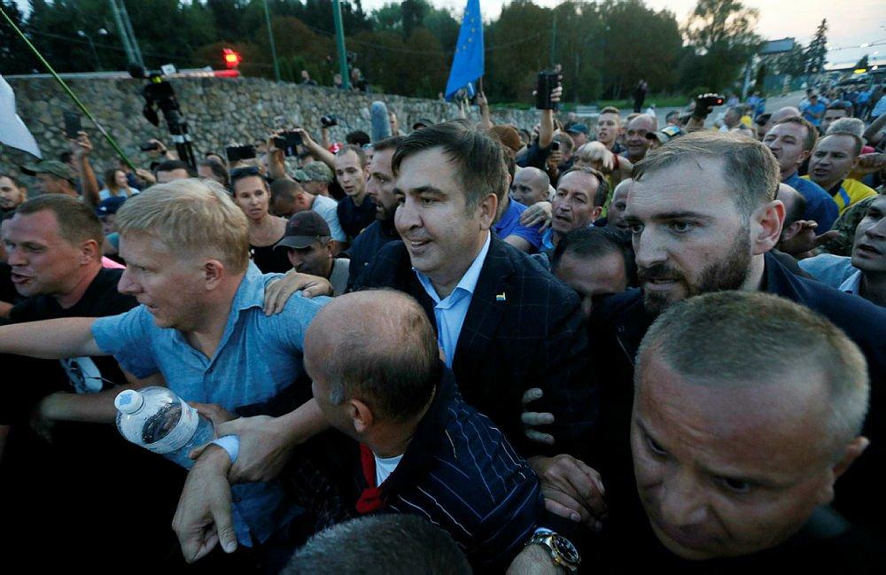Прорив Саакашвілі в Україну