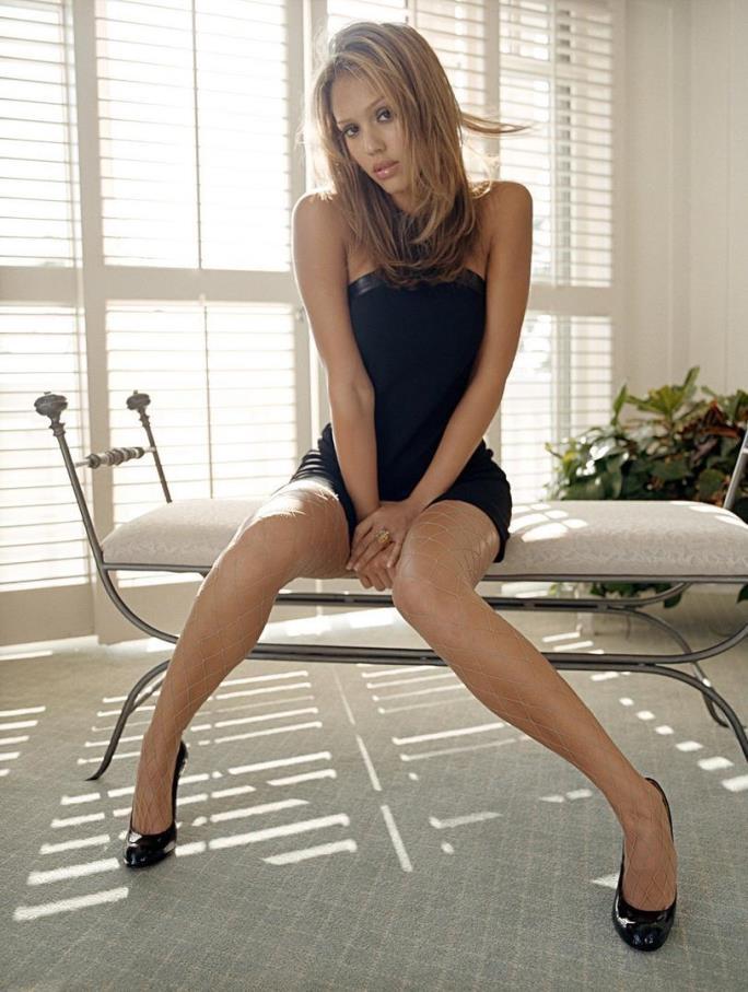 Американська акторка Джессіка Альба.