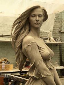Реалістичні скульптури Лу Лі Ронг
