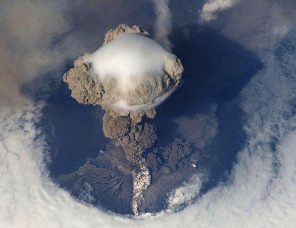 Виверження вулкану у Японії