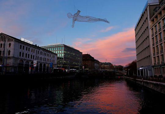Інсталяція у Женеві
