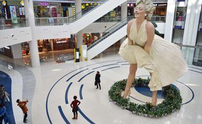 Статуя Мерилін Монро