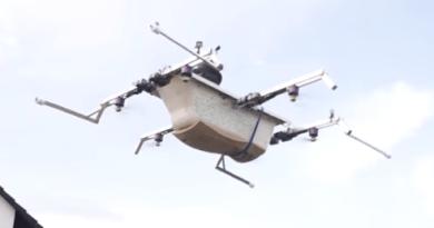 У Німеччині збудували літаючий дрон-ванну