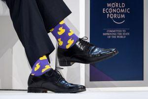 Шкарпетки прем'єр-міністра Канади Джастіна Трюдо