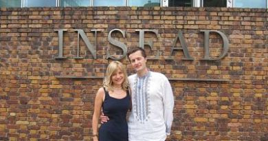 Олексій Порошенко і його дружина