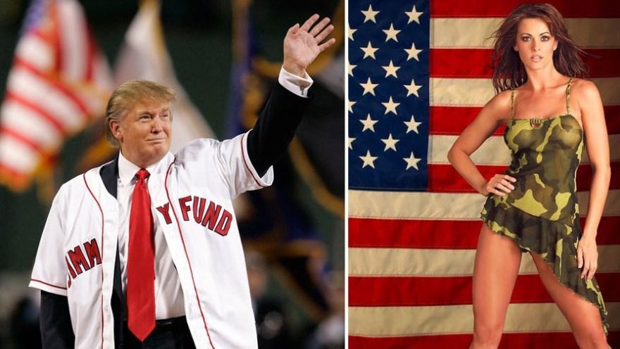 Дональд Трамп і Карен Макдугал - фото