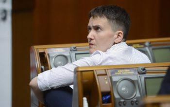 """Савченко прийшла у Раду з гранатами і """"стволом"""". Її вивели із зали"""