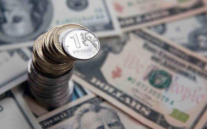 Російський рубль - долар