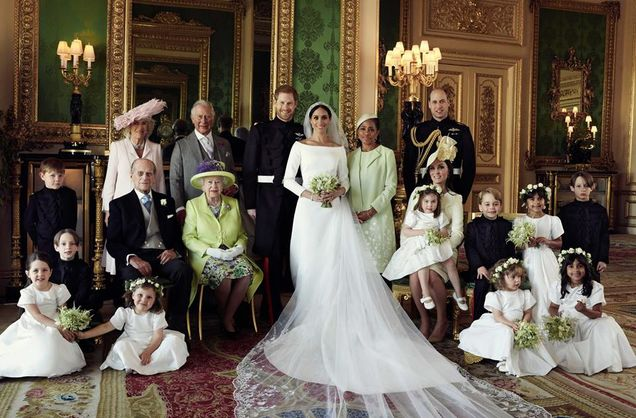 Фото з весілля принца Гаррі і Меган Маркл
