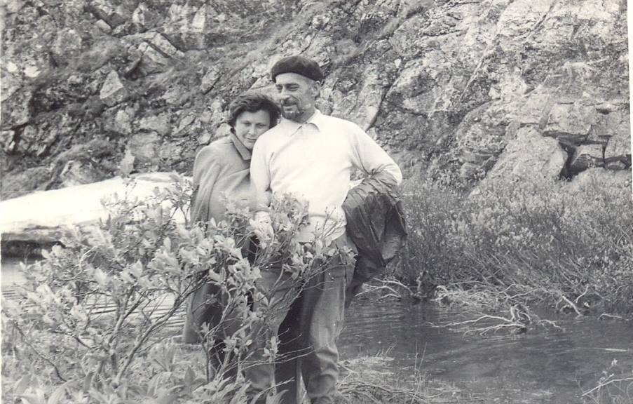 Роман Іваничук з дочкою