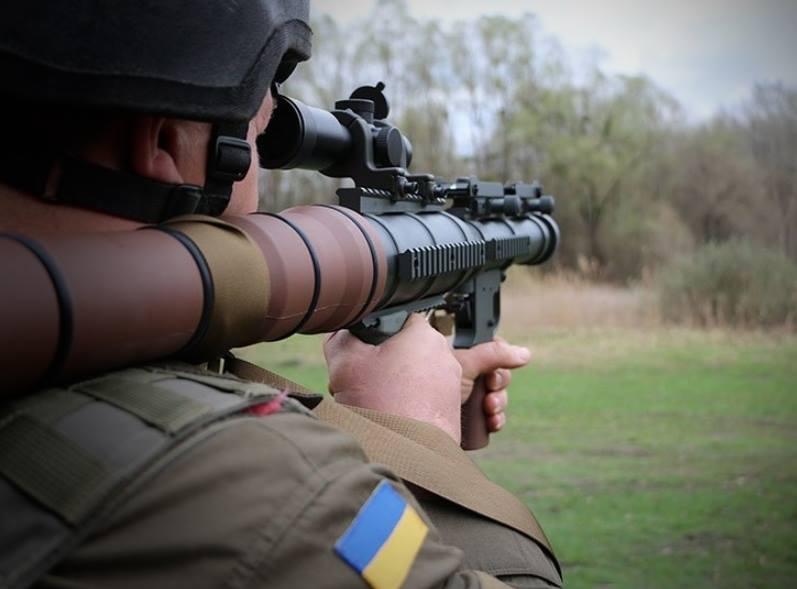 Нацгвардію озброїли американськими гранатометами RSRL-1