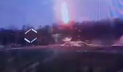 Як українські десантники роздовбали російську позицію - відео