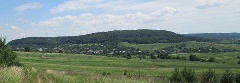 Панорама села Станимир,сучасний вигляд, фото автора