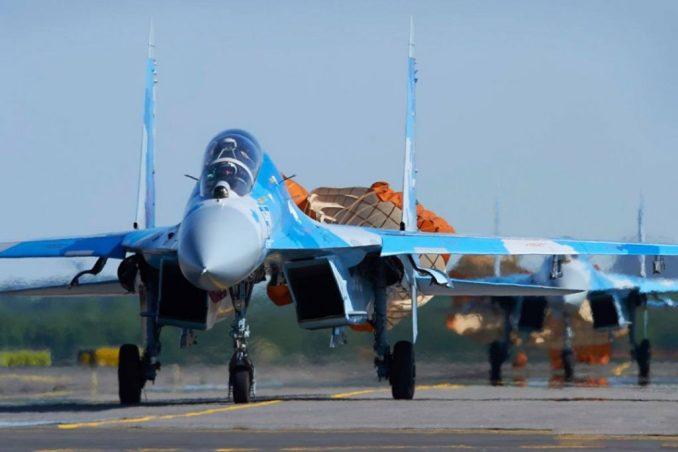 українська військова авіація буде представлена двома винищувачами Су-27 та військово-транспортним літаком Іл-76