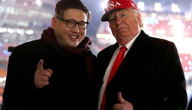 Двійники Кім Чен Ина та Дональда Трампа