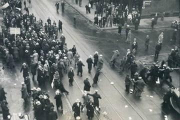 Американські комуністи били українців за протести проти Голодомору в Україні