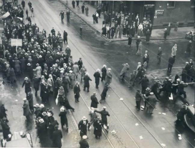 Демонстрація українців у Чикаго