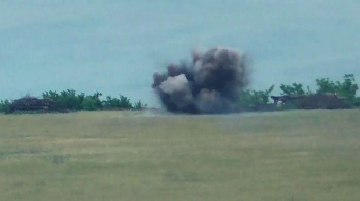 Ракетний удар ЗСУ знищив 2 мінометні розрахунки ворога - відео