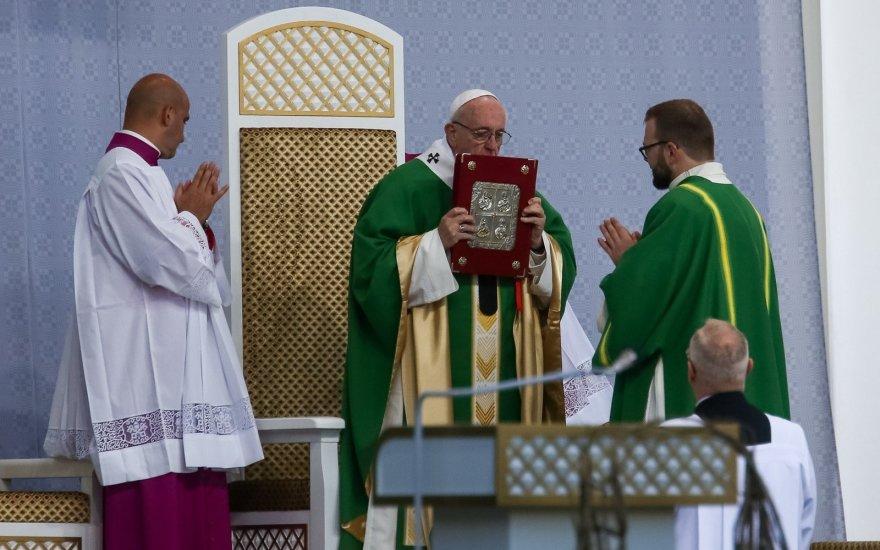 Папа Франциск Литва