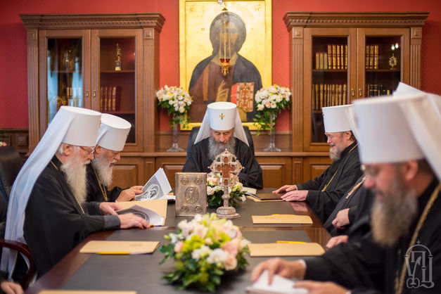 Синод УПЦ МП зажадав, щоб Екзархи Константинополя покинули Україну