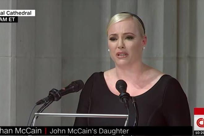 Меґан Маккейн про батька: Він був вогнем, що яскраво палав
