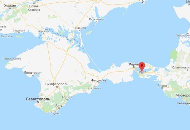 Карта Чорного моря