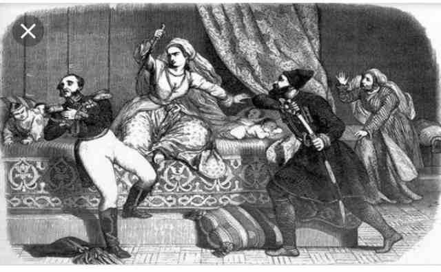 цариця Маріам вбиває російського генерала