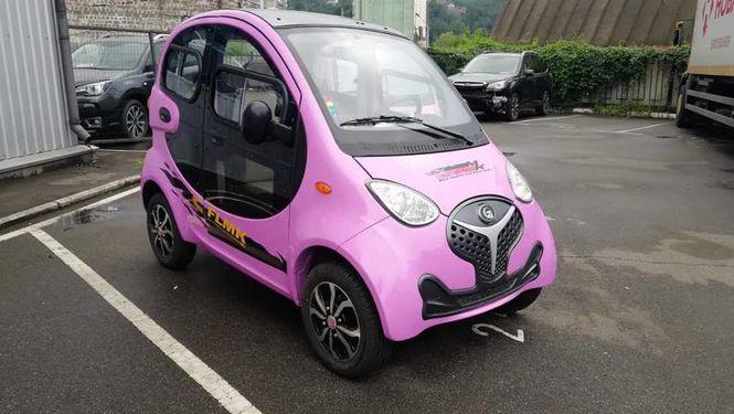 Китайський електромобіль Fulu Mk1