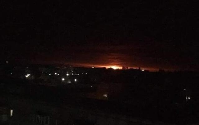 На Чернігівщині горять військові склади