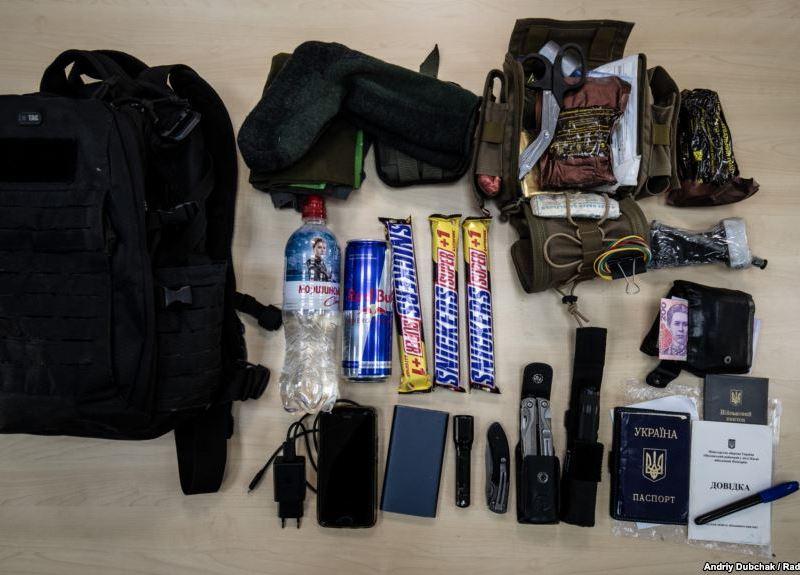 «Тривожний рюкзак» на випадок біди. Що потрібно мати у ньому