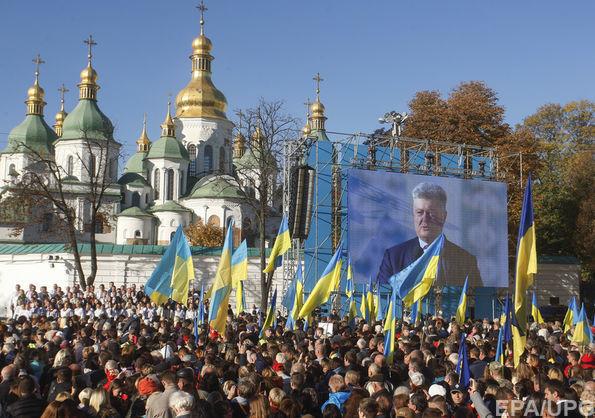 Петро Порошенко про російську церкву
