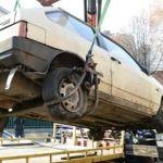У Львові беруть під арешт покинуті автомобілі