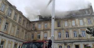 У Львові горіла обласна лікарня
