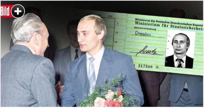 Путін мав посвідчення німецького агента служби Штазі