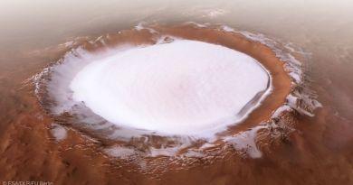 Крижане озеро на Марсі